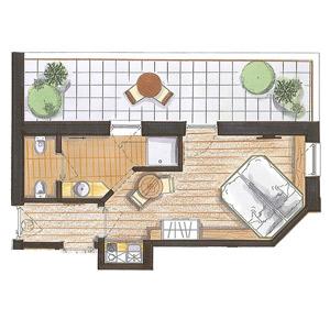 Studio 25 Mq